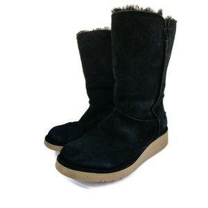 Koolaburra by UGG Black Suede Boots. Size: 7